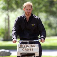 Prince Harry Gets a Gift for Baby Archie During Solo Day Trip to the Netherlands Dad Jacket Invictus Games