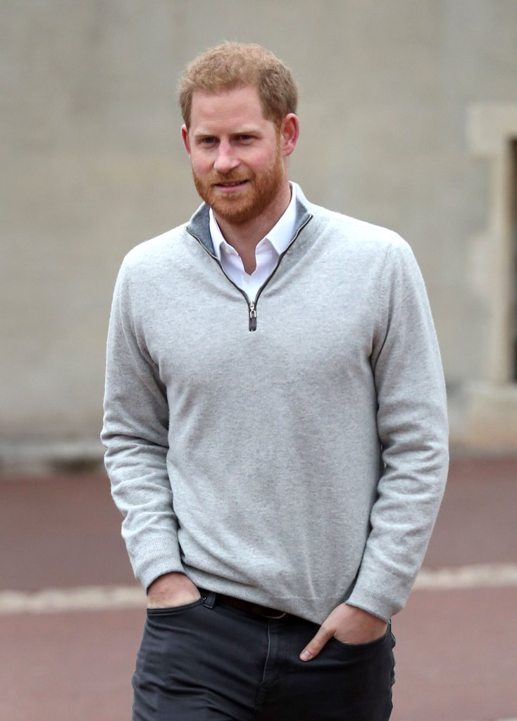 Prince Harry Tired