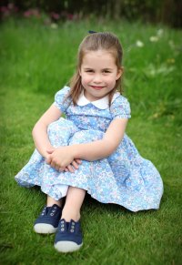 Prince Harry and Duchess Meghan Send Lots of Love to Princess Charlotte on Her 4th Birthday