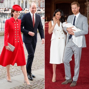 Prince William and Duchess Kate Visit Prince Harry, Duchess Meghan's Royal Baby