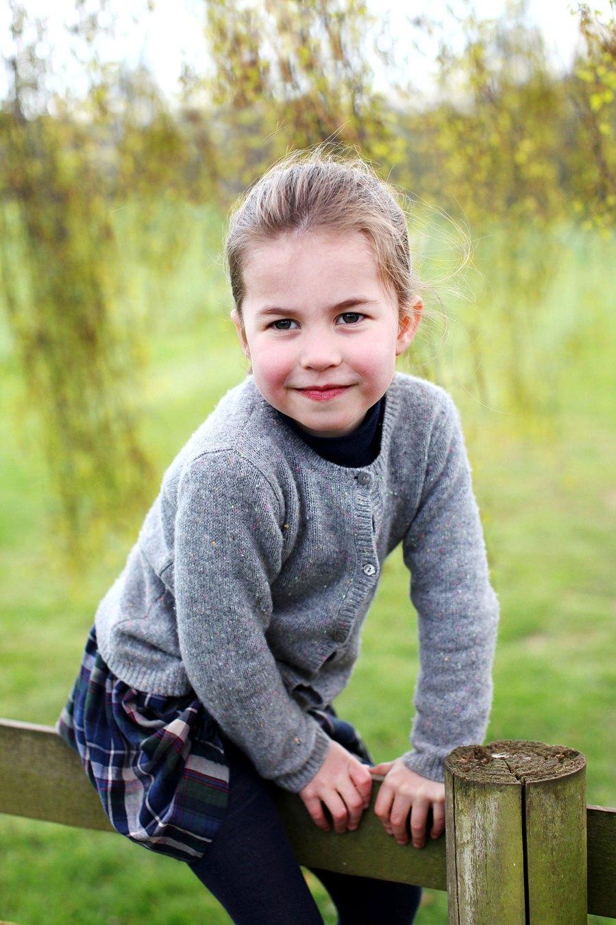 Princess Charlotte Portrait Session Fourth Birthday