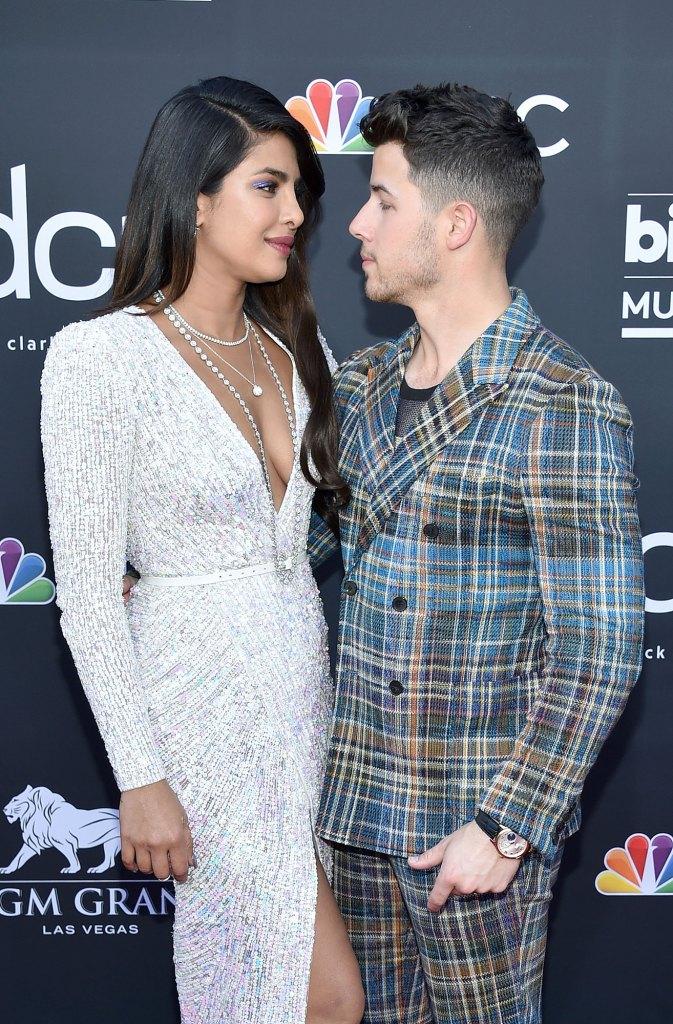 Priyanka Chopra and Nick Jonas Red Carpet Billboard Music Awards 2019