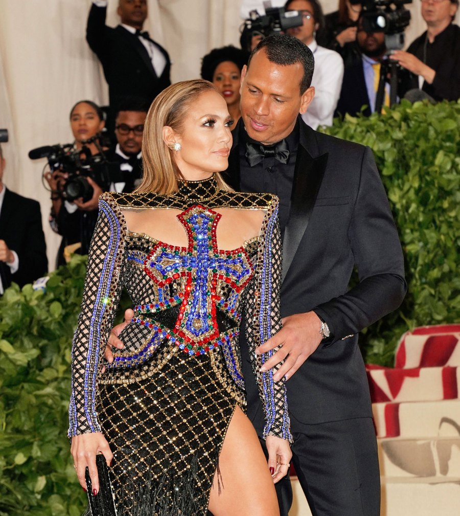 Jennifer Lopez and Alex Rodriguez See the Hollywood Couples Who Have Made Their Red Carpet Debut at the Met Gala