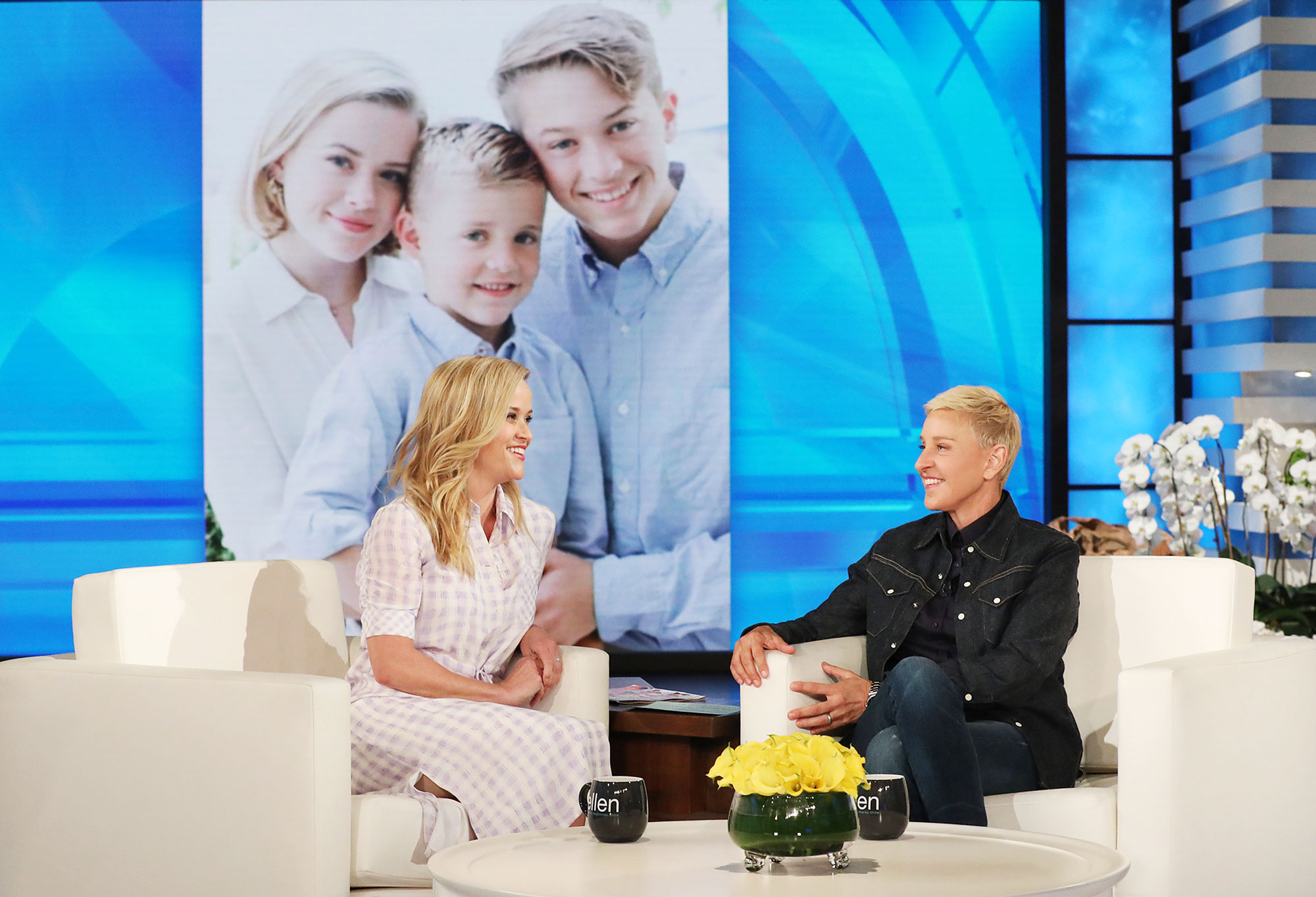 Reese Witherspoon The Ellen DeGeneres Show Daughter Ava Phillippe Crying College