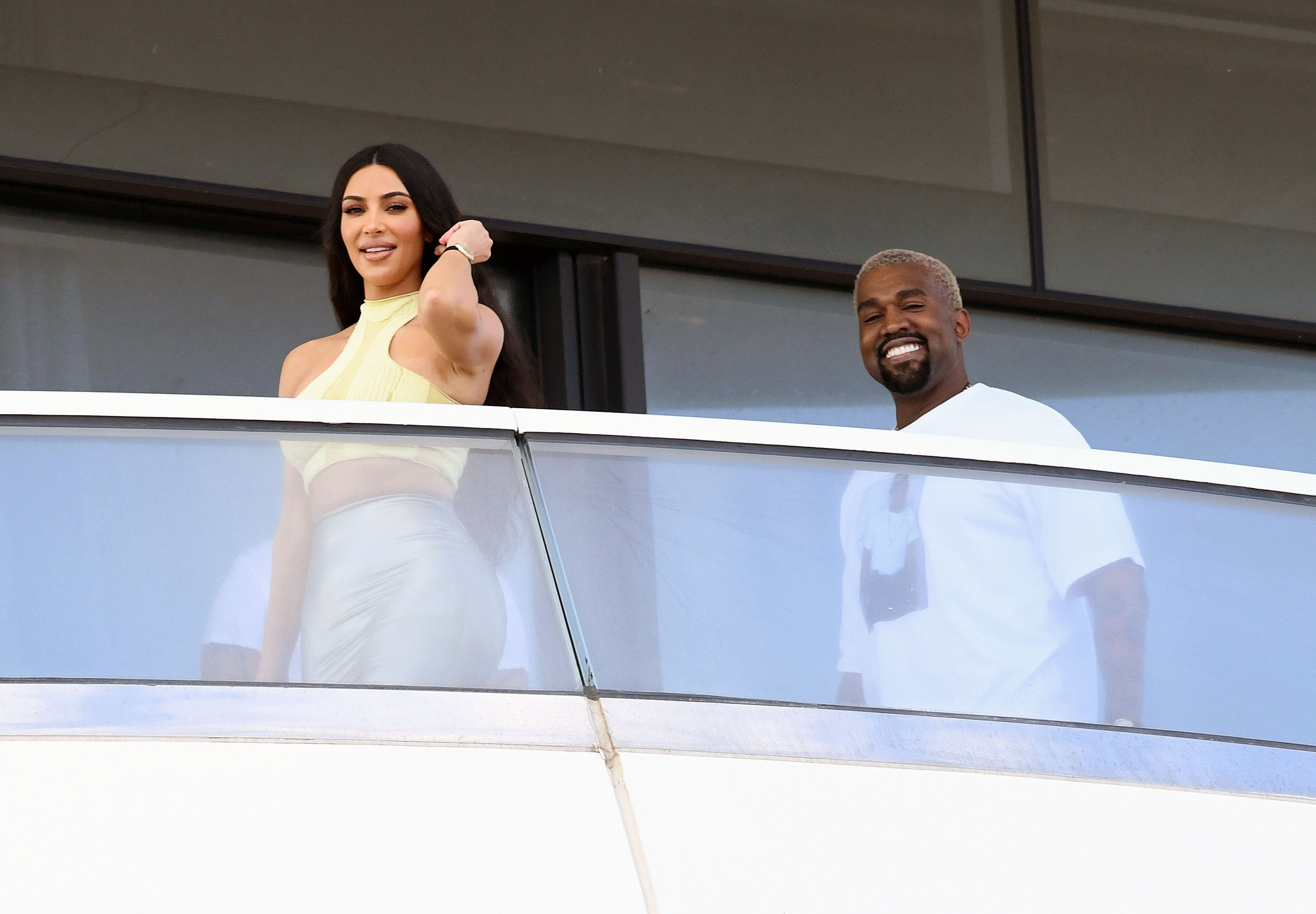 Revisit the 5 Most Kimye Things the Power Couple Have Done Kanye buying Kim a $14M Miami Beach condo for Christmas in 2018 - West made headlines in December 2018 when he was in the final stages of buying Kardashian a luxury condo in Miami Beach for a cool $14 million. Though the grand gesture was romantic (and expensive), the MC ultimately reconsidered and passed on the deal.