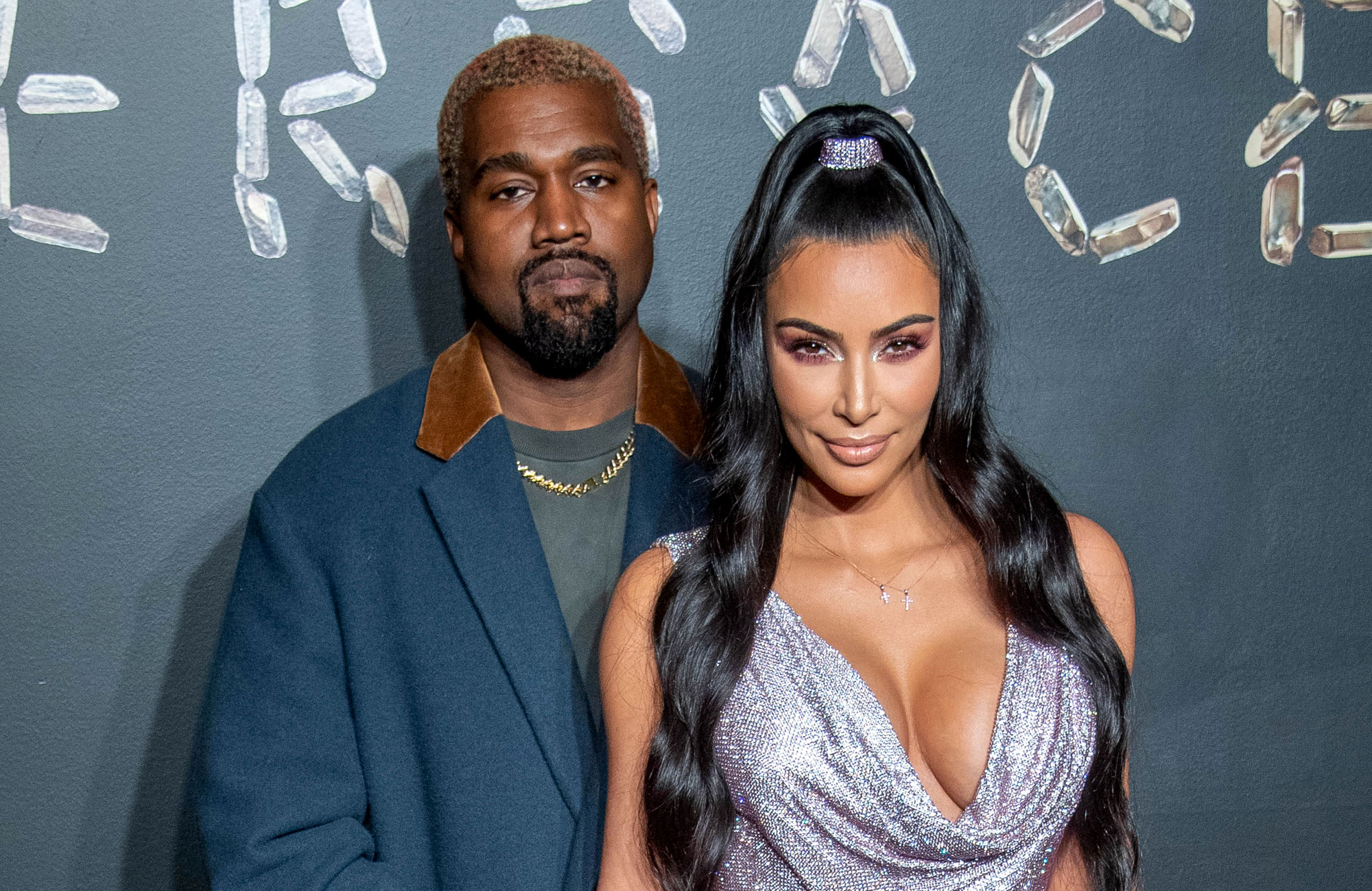 Revisit the 5 Most Kimye Things the Power Couple Have Done Versace fall 2019 fashion show - Kanye West and Kim Kardashian West attend the the Versace fall 2019 fashion show at the American Stock Exchange Building in lower Manhattan on December 02, 2018 in New York City.