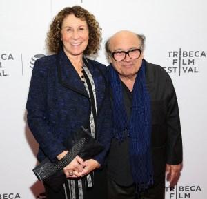 Rhea Perlman Divorce Danny DeVito