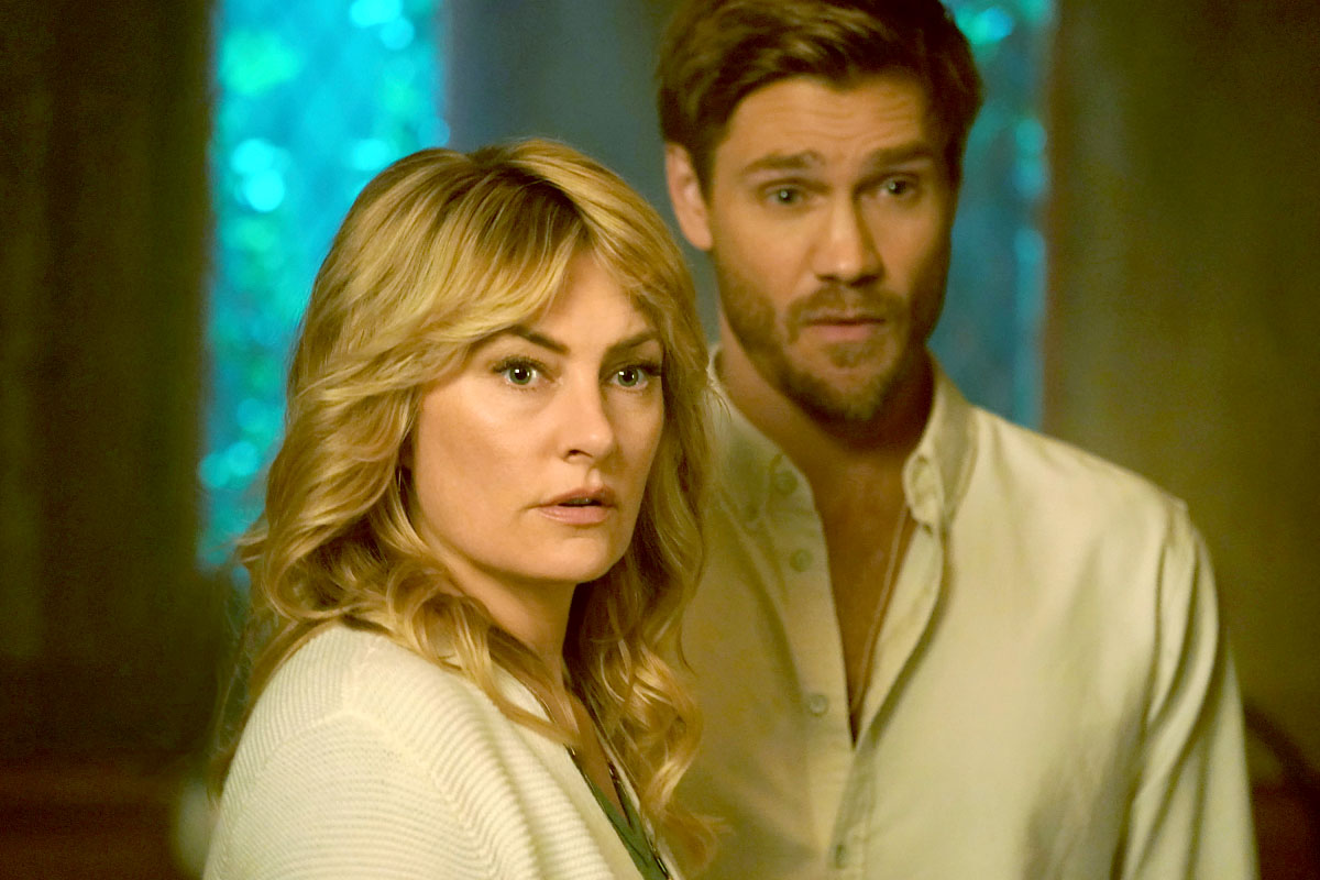 Riverdale Recap - Madchen Amick as Alice Cooper and Chad Michael Murray as Edgar Evernever.