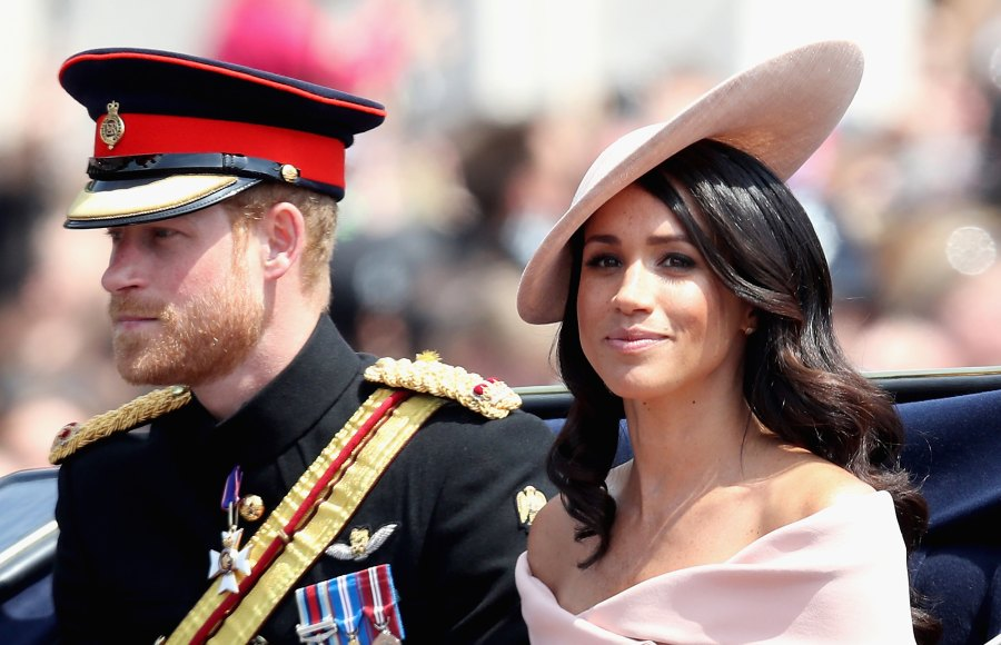 Royal Family Members React to Royal Baby Duchess Meghan Prince Harry