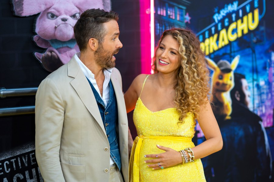 Ryan Reynolds and Blake Lively Baby Bump