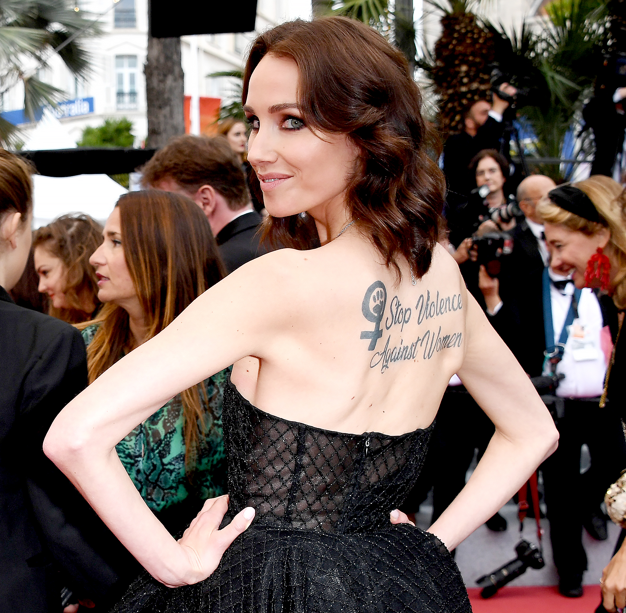 Why Everyone Is Talking About This Tattoo Spotted on the Cannes Carpet