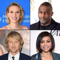 Scarlett Johansson Idris Elba Owen Wilson Taraji P. Henson Disney and Pixar Voice