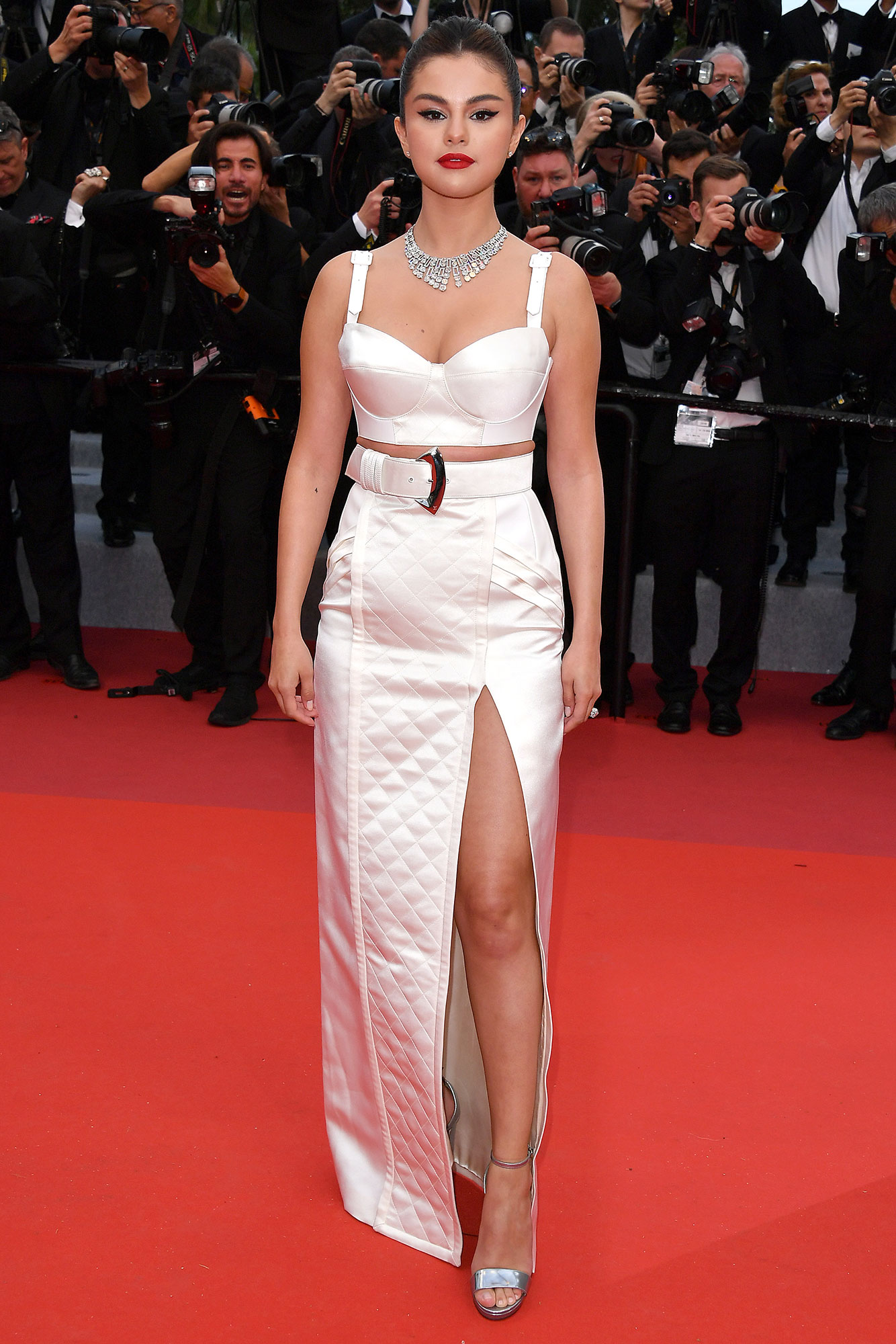 """Selena Gomez Cannes - Selena Gomez attends the opening ceremony and screening of """"The Dead Don't Die"""" during the 72nd annual Cannes Film Festival on May 14, 2019 in Cannes, France."""