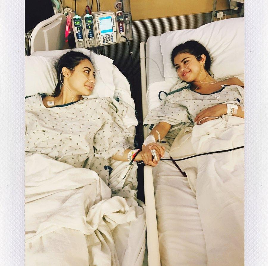 Celebrity Health Scares Francia Raisa Selena Gomez Kidney Transplant