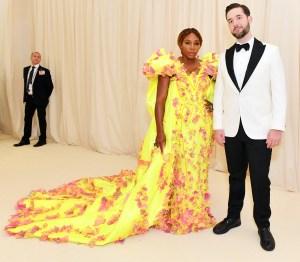 Serena Williams Alexis Ohanian Met Gala 2019