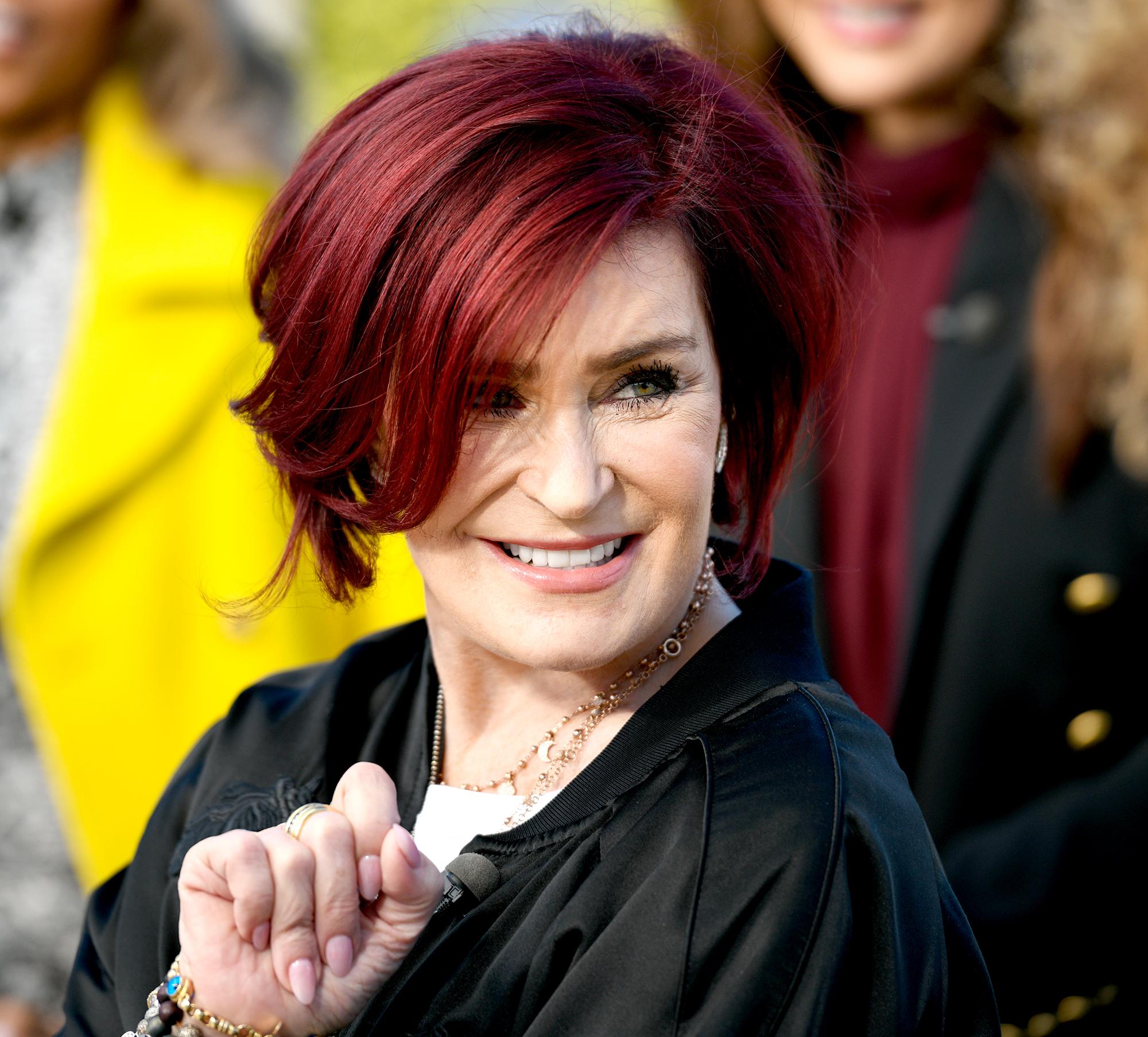 Sharon Osbourne hair