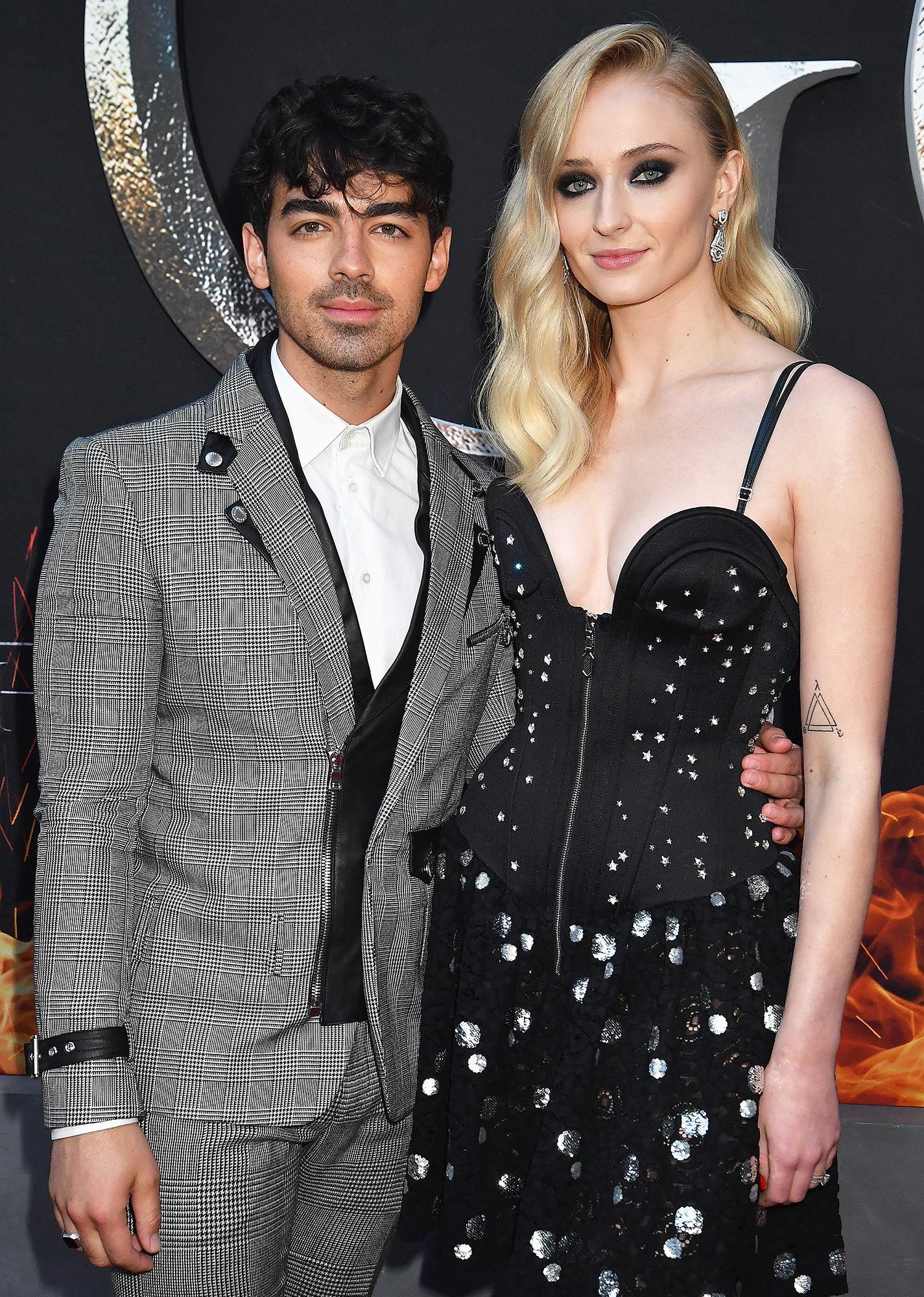 Sophie Turner Joe Jonas Daddy - Joe Jonas and Sophie Turner attend the Game Of Thrones Season 8 NY Premiere on April 3, 2019 in New York City.