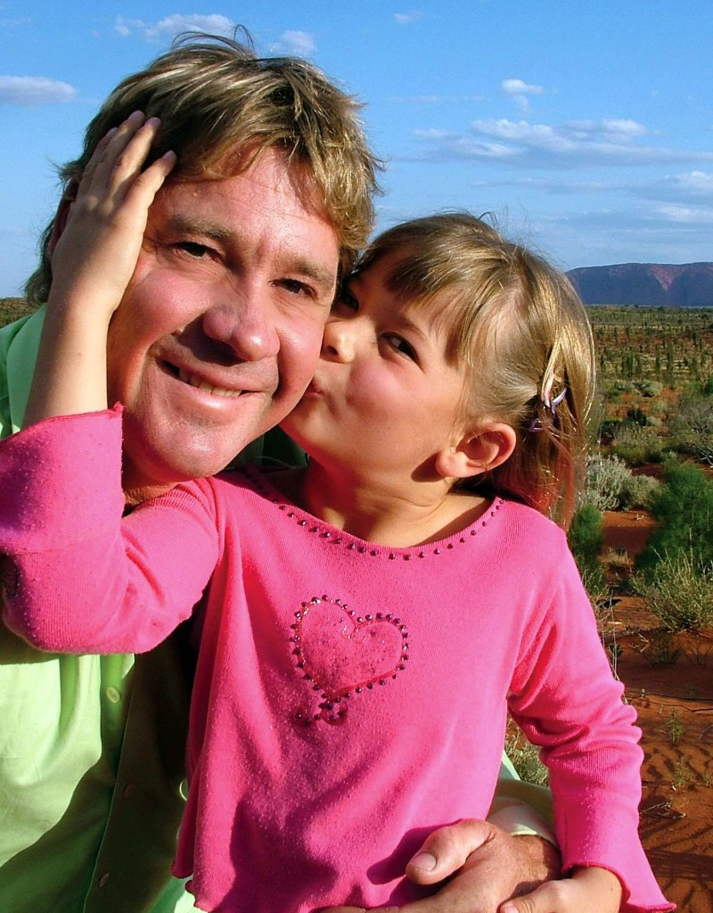 Bindi Irwin Says She Feels Close to Her Late Dad Steve While Filming 'Crikey! It's the Irwins' With Her Mom and Brother