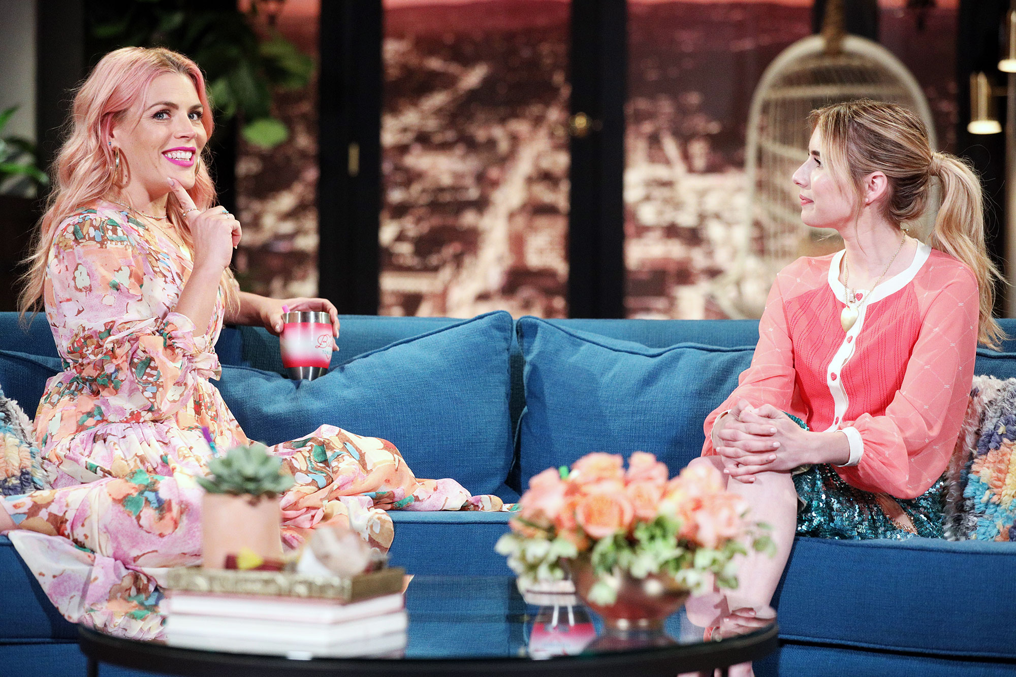 Talk Show Busy Tonight Canceled Busy Philipps Emma Roberts