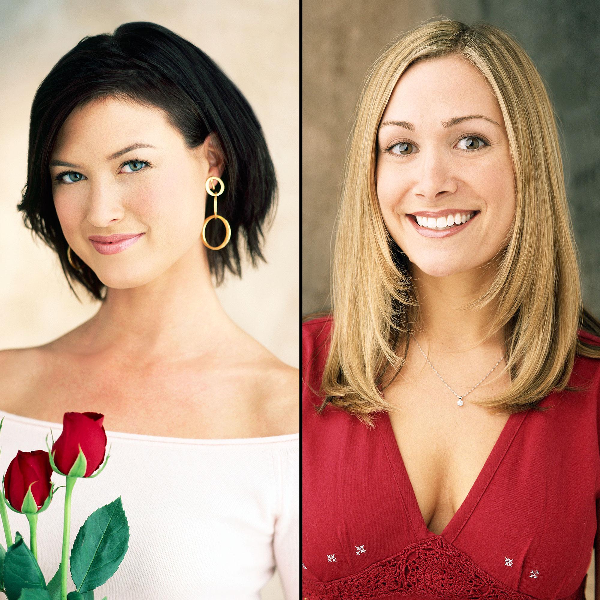 The Bachelorette Reunion Meredith Philips Jen Schefft Missing - Meredith Philips and Jen Schefft.