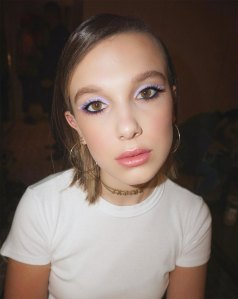The Key to Millie Bobby Brown's Pastel Eye Makeup Is a $6 Liner