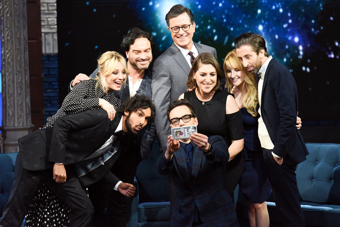 The Late Show With Stephen Colbert The Big Bang Theory Cast