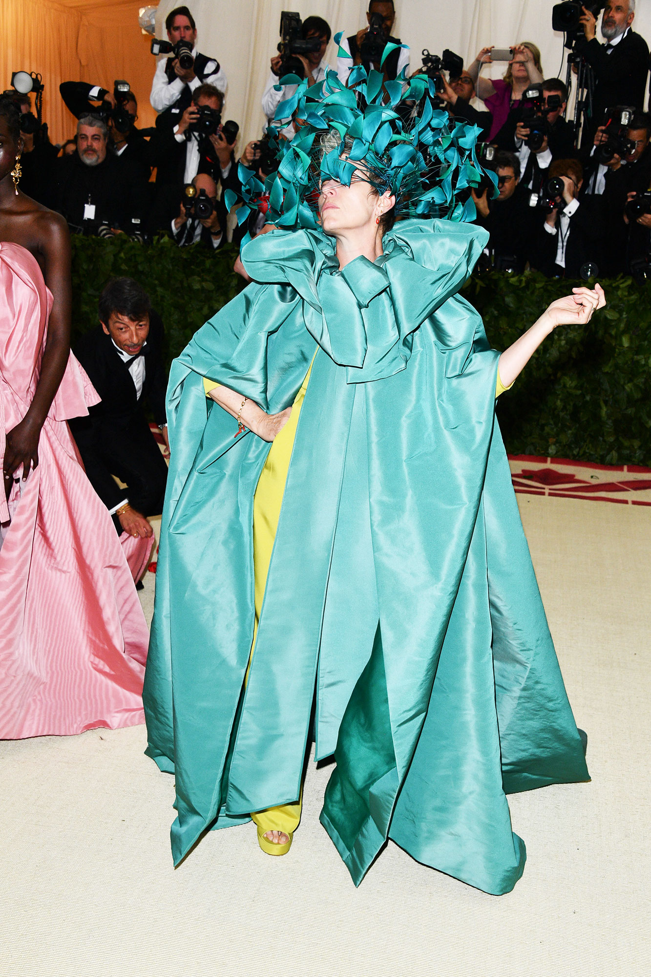Frances McDormand The Wild Met Gala Red Carpet Fashion Looks We Can't Stop Thinking About - In Valentino Couture.