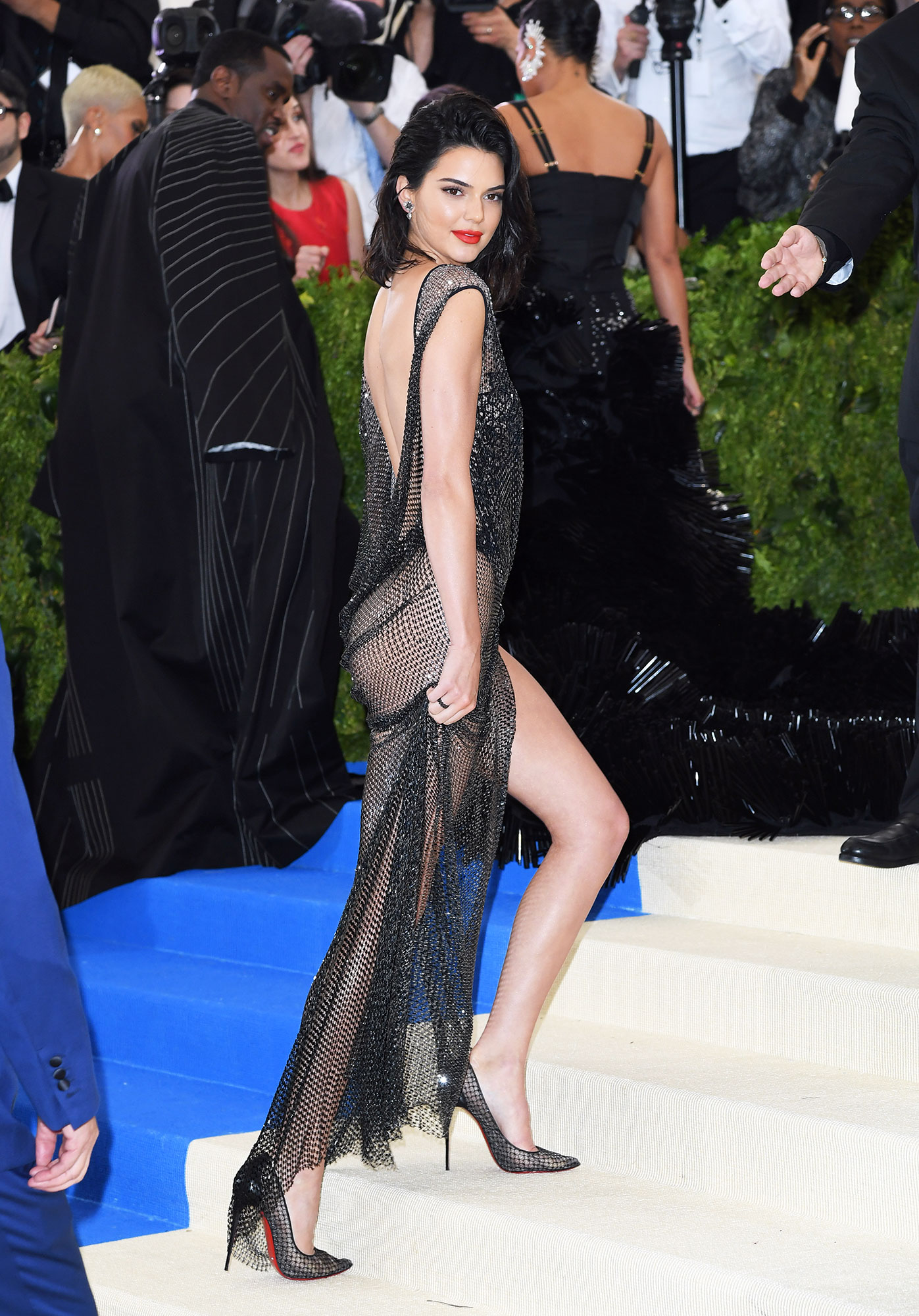 Kendall Jenner The Wild Met Gala Red Carpet Fashion Looks We Can't Stop Thinking About - In La Perla.