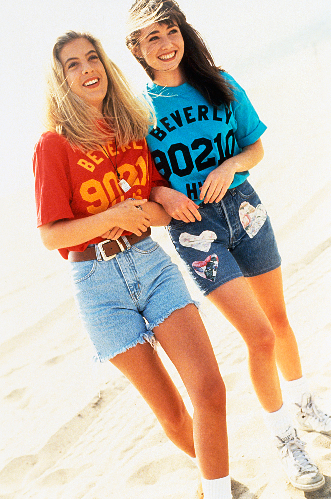 Tori-Spelling-Shannen-Doherty-90210 - Tori Spelling and Shannen Doherty on 90210