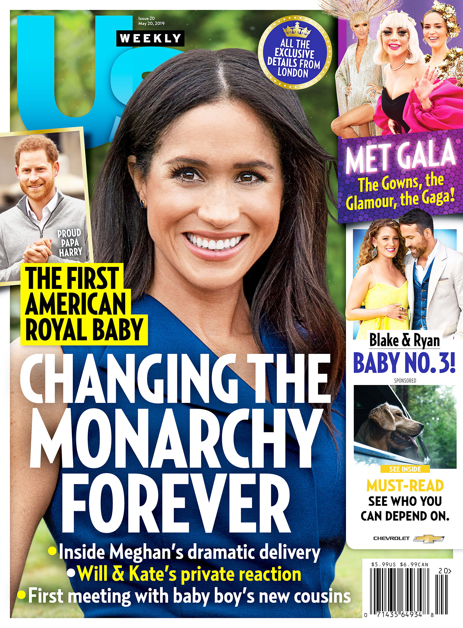 US2019 Us Weekly Cover Duchess Meghan Royal Baby