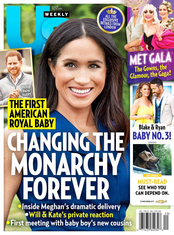 US2019 Us Weekly Cover Duchess Meghan Royal Baby