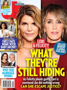 Us Weekly Cover 2119 Lori Loughlin Felicity Huffman