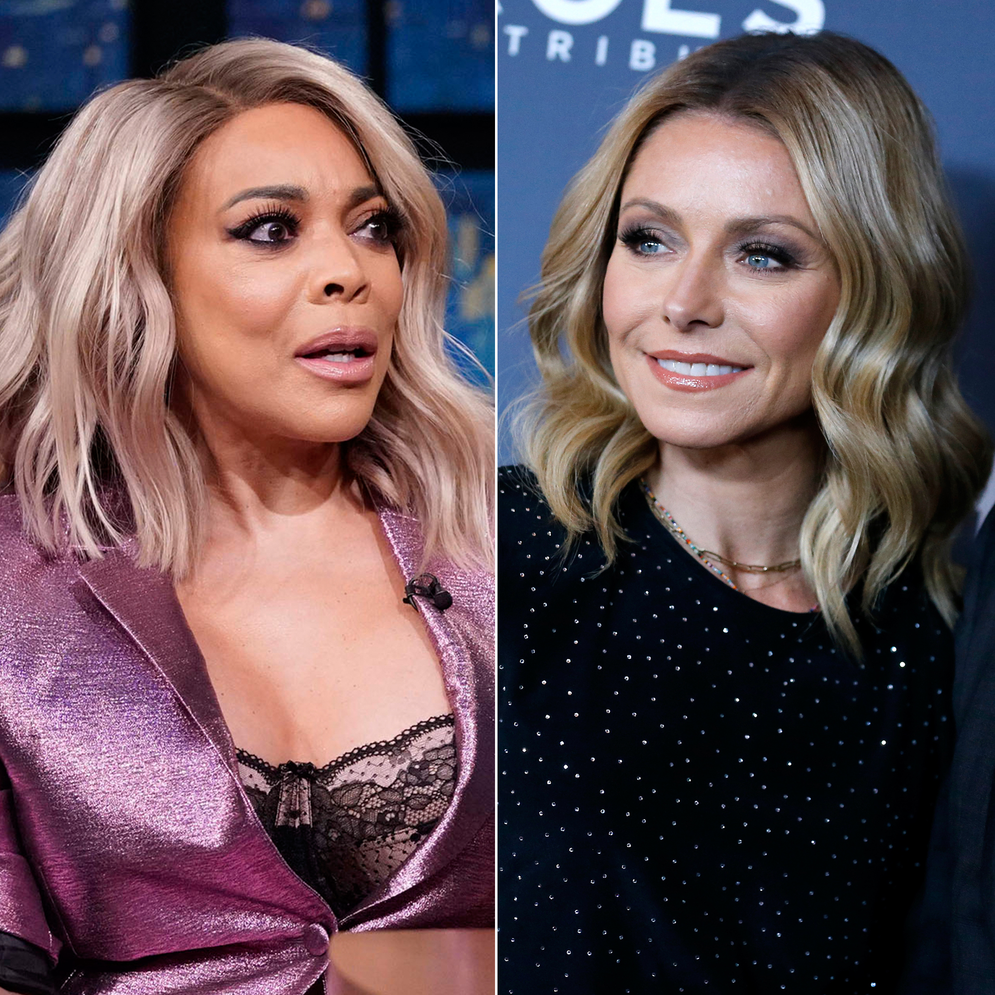 Wendy Williams Defends Kelly Ripa After 'Bachelorette' Criticism - Wendy Williams and Kelly Ripa.