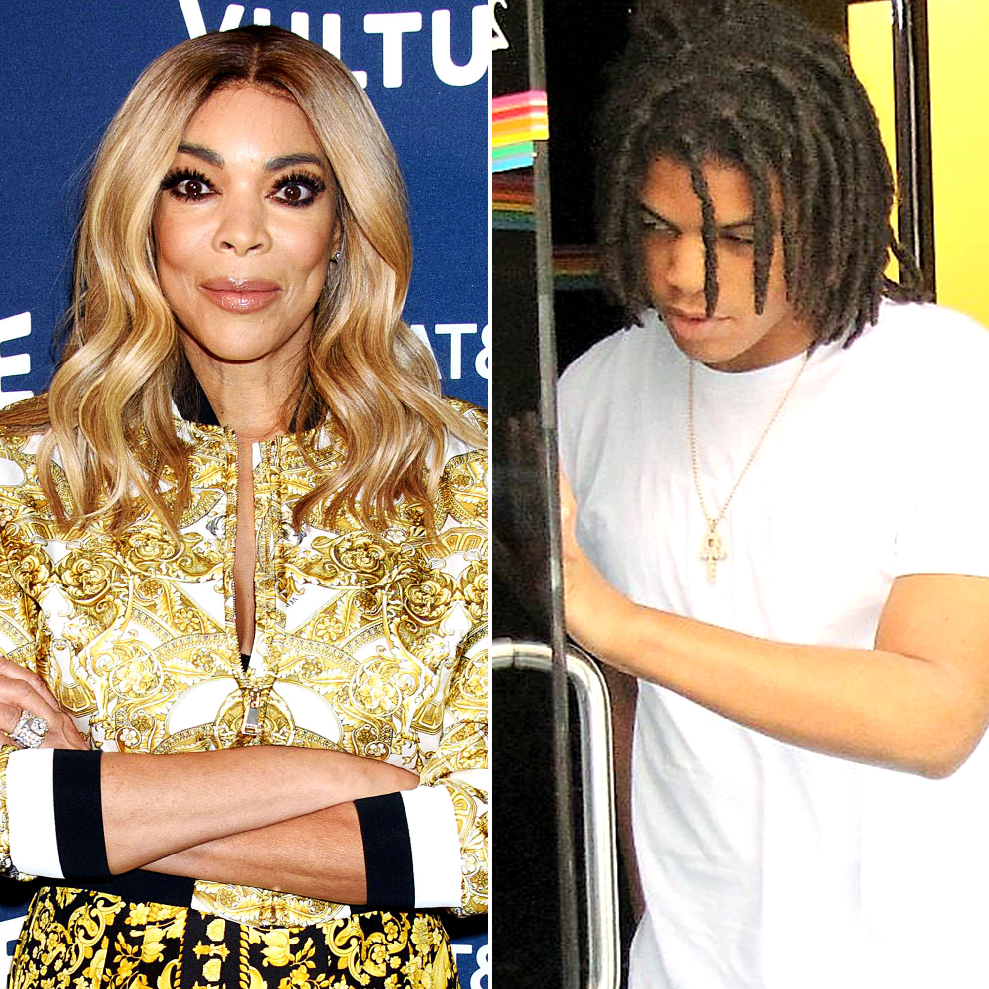 Wendy Williams Son Kevin Travel to Chicago After Arrest for Fight With Dad - Wendy Williams and Kevin Hunter Jr.