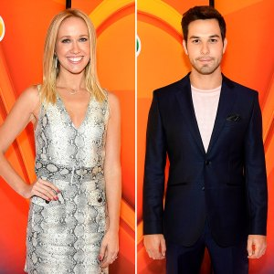 Anna Camp and Skylar Astin Almost Run Into Each Other at NBC Upfronts After Split