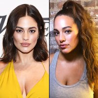 Ashley Graham Tries Out Long Hair With a Pretty Ponytail
