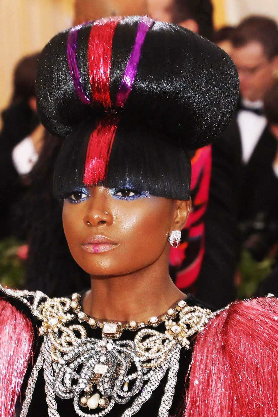 Kiki Layne Met Gala 2019:See the Wildest Hair and Makeup on the Red Carpet