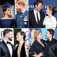 celebrity couples met blind dates