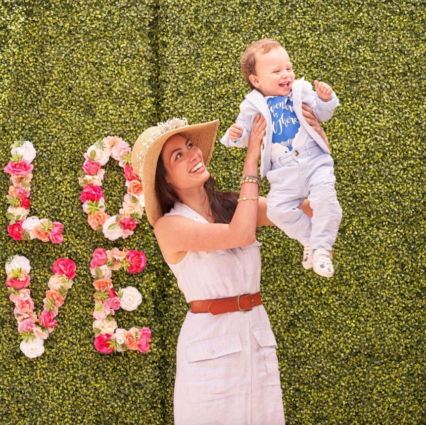 """celebrity mothers day 2019 Caitlin McHugh Stamos - The 48 Hours to Live actress, who shares 12-month-old son Billy with husband John Stamos , posted a series of Instagram pictures with her little man, writing, """"Happy Mother's Day to those celebrating today! Especially to my mom, whose guidance, support, and love get me through every day and provide the best example for the mother I want to be for my son. I love you!"""""""