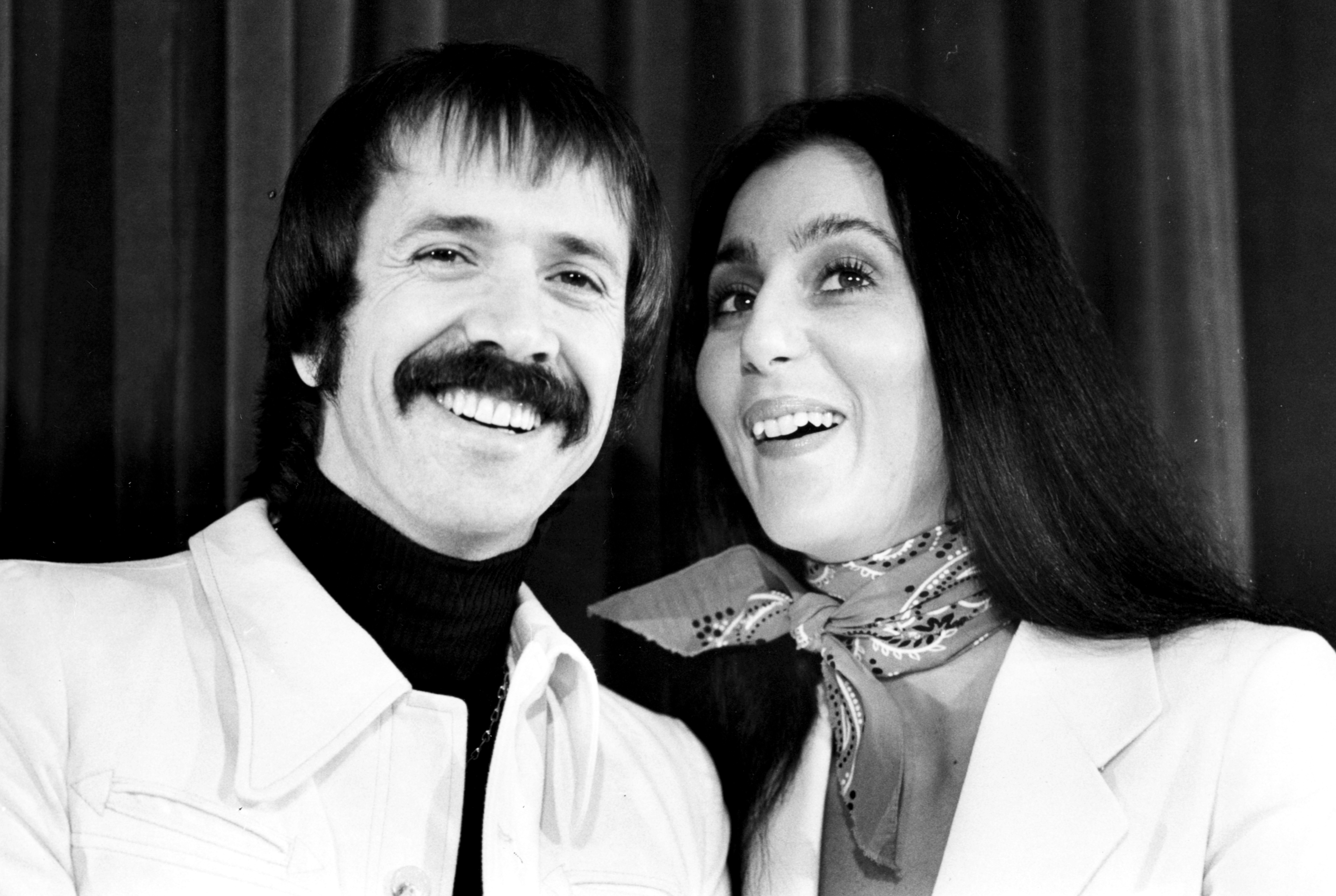 Cher Through The Years - The Sonny and Cher Show became the first-ever to star a divorced couple when it premiered. Their onscreen banter about their personal life in part led to the series' cancellation in August 1977.