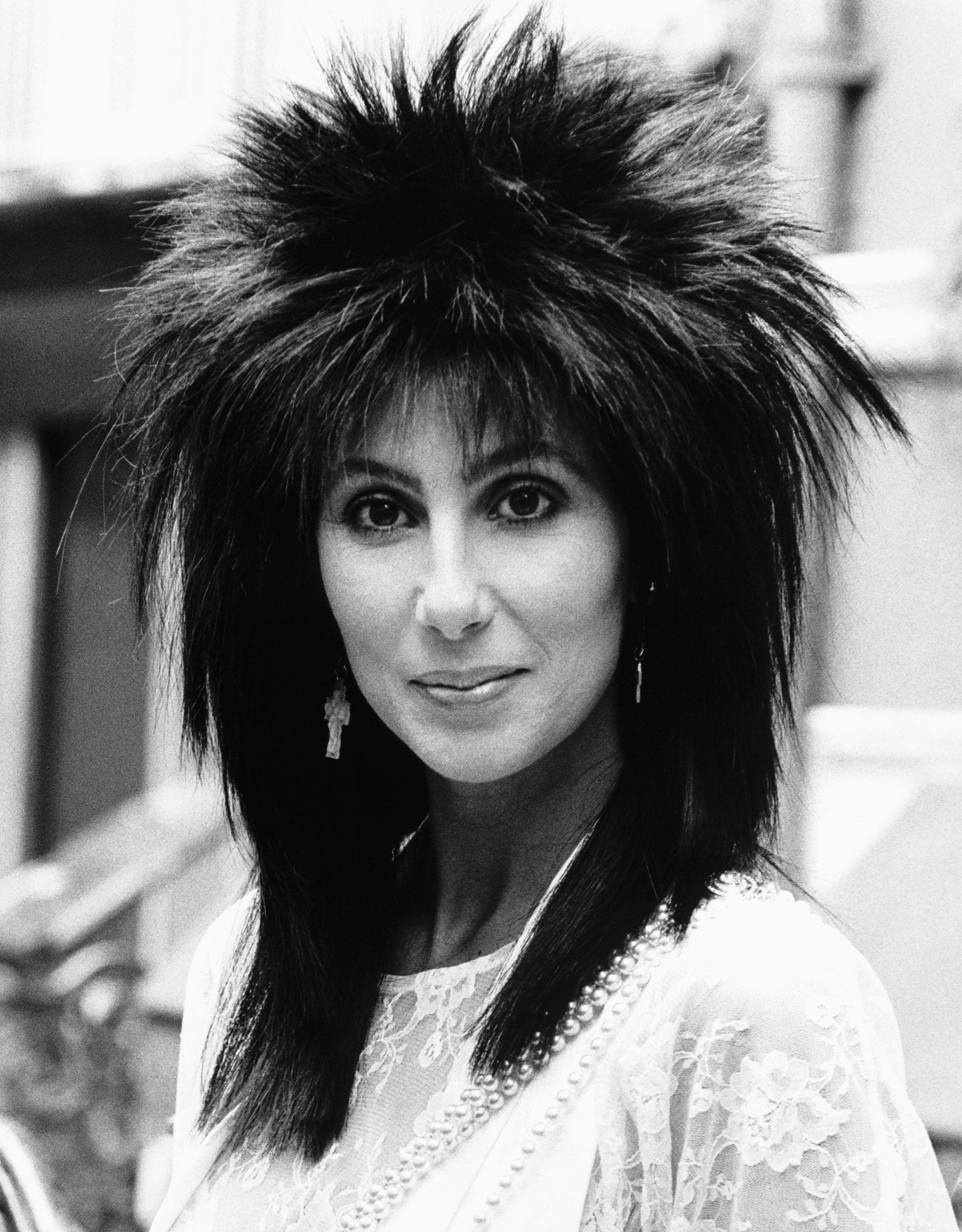 Cher Through The Years - Cher received another Golden Globe nomination for her role opposite Sam Elliott in Mask .