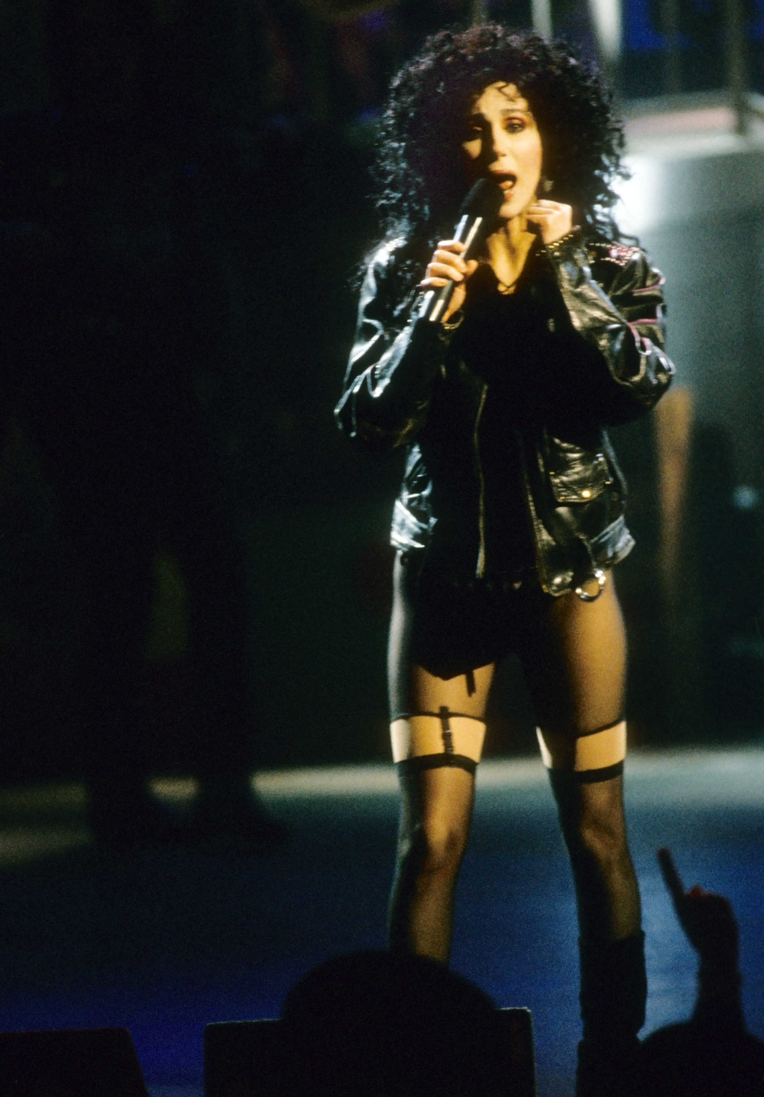 """Cher Through The Years - Cher released her """"If I Could Turn Back Time"""" music video, in which she famously performed aboard a battleship for members of the Navy."""