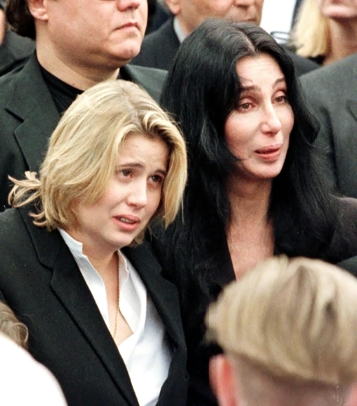 Cher Through The Years - Sonny died when he crashed into a tree while skiing at Heavenly Mountain Resort in California. Cher delivered an emotional eulogy at his funeral.