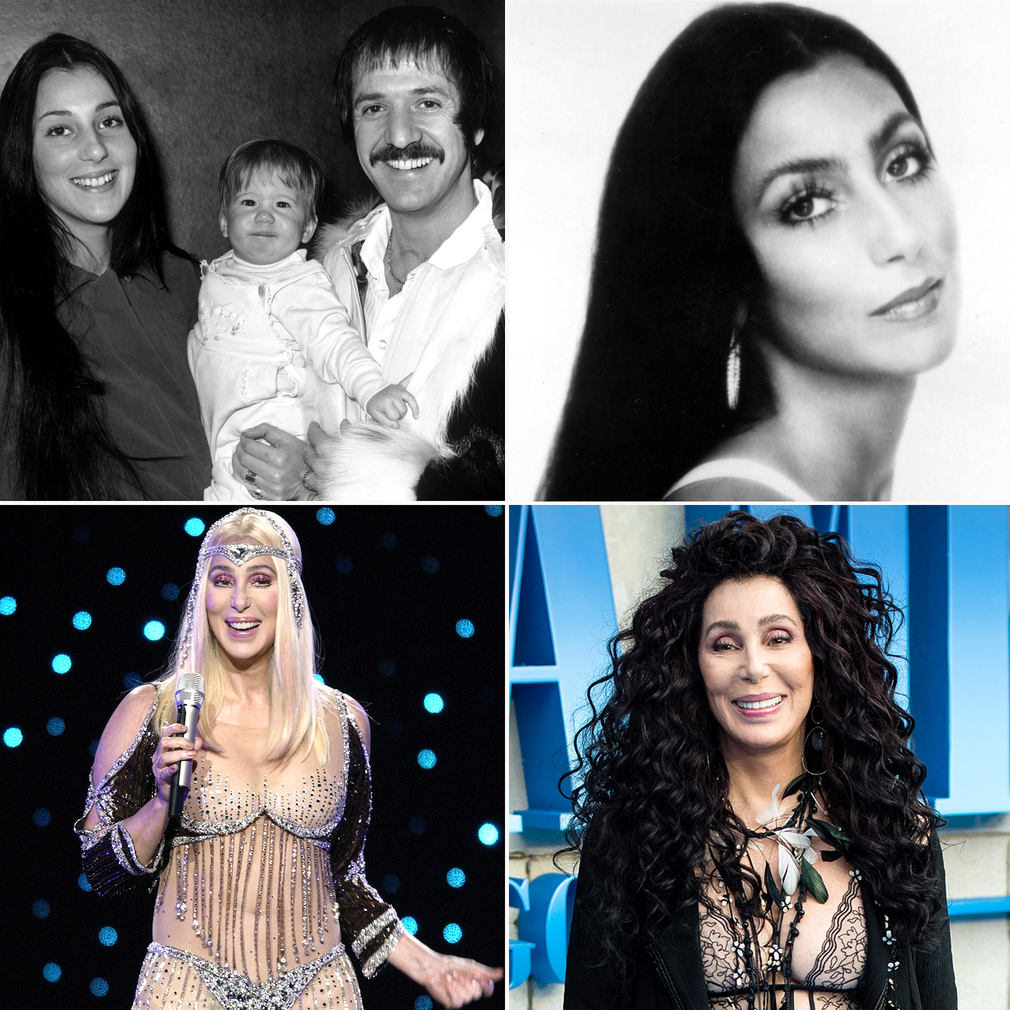 Cher Through The Years - There is only one Goddess of Pop — and she needs just one name: Cher . The legendary singer (born Cherilyn Sarkisian) is more than five decades into her megasucessful career, which has spanned the worlds of music, TV, film and fashion.