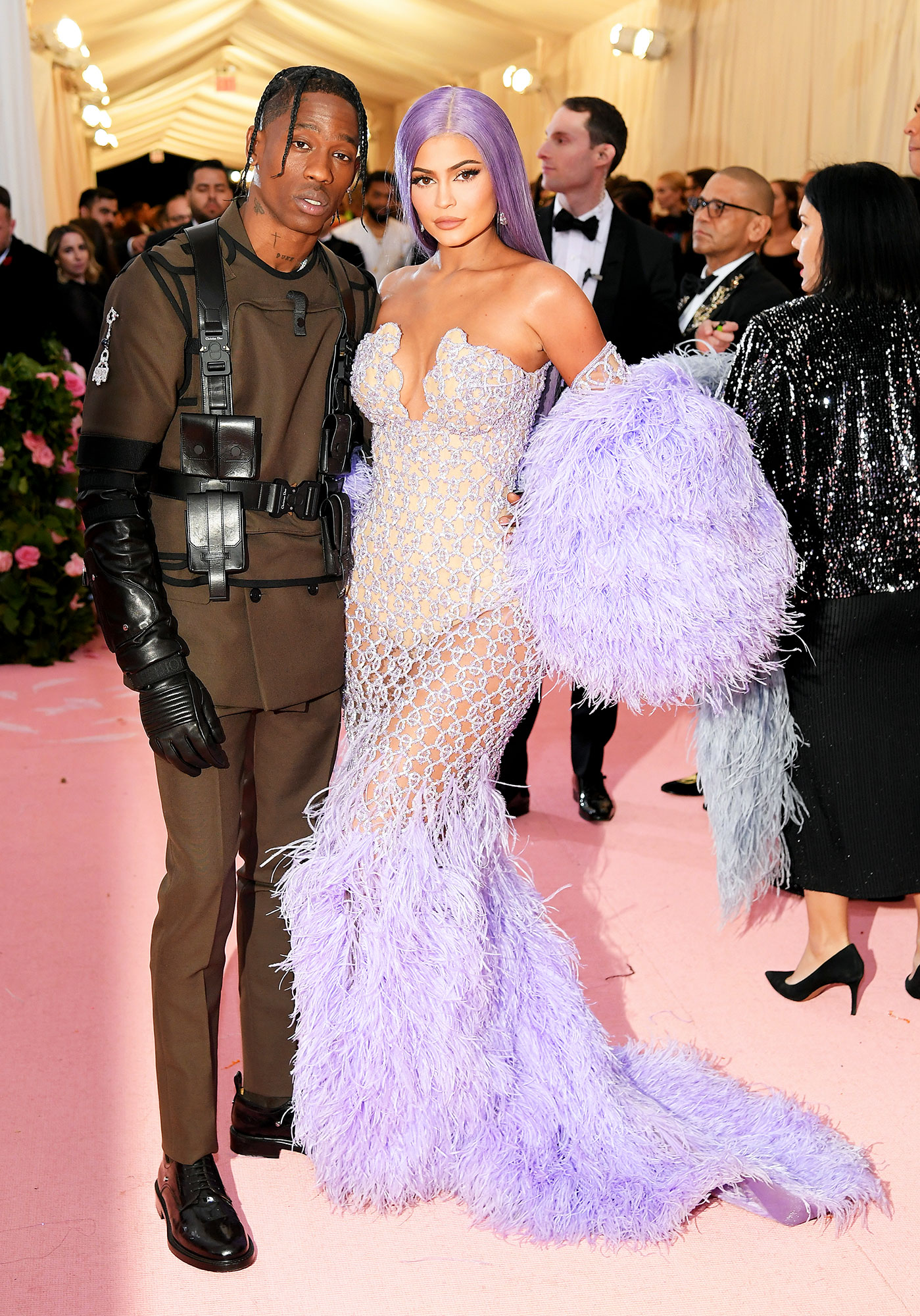 Travis Scott and Kylie Jenner met gala 2019 couples - Travis Scott and Kylie Jenner attend The 2019 Met Gala Celebrating Camp: Notes on Fashion at Metropolitan Museum of Art on May 06, 2019 in New York City.