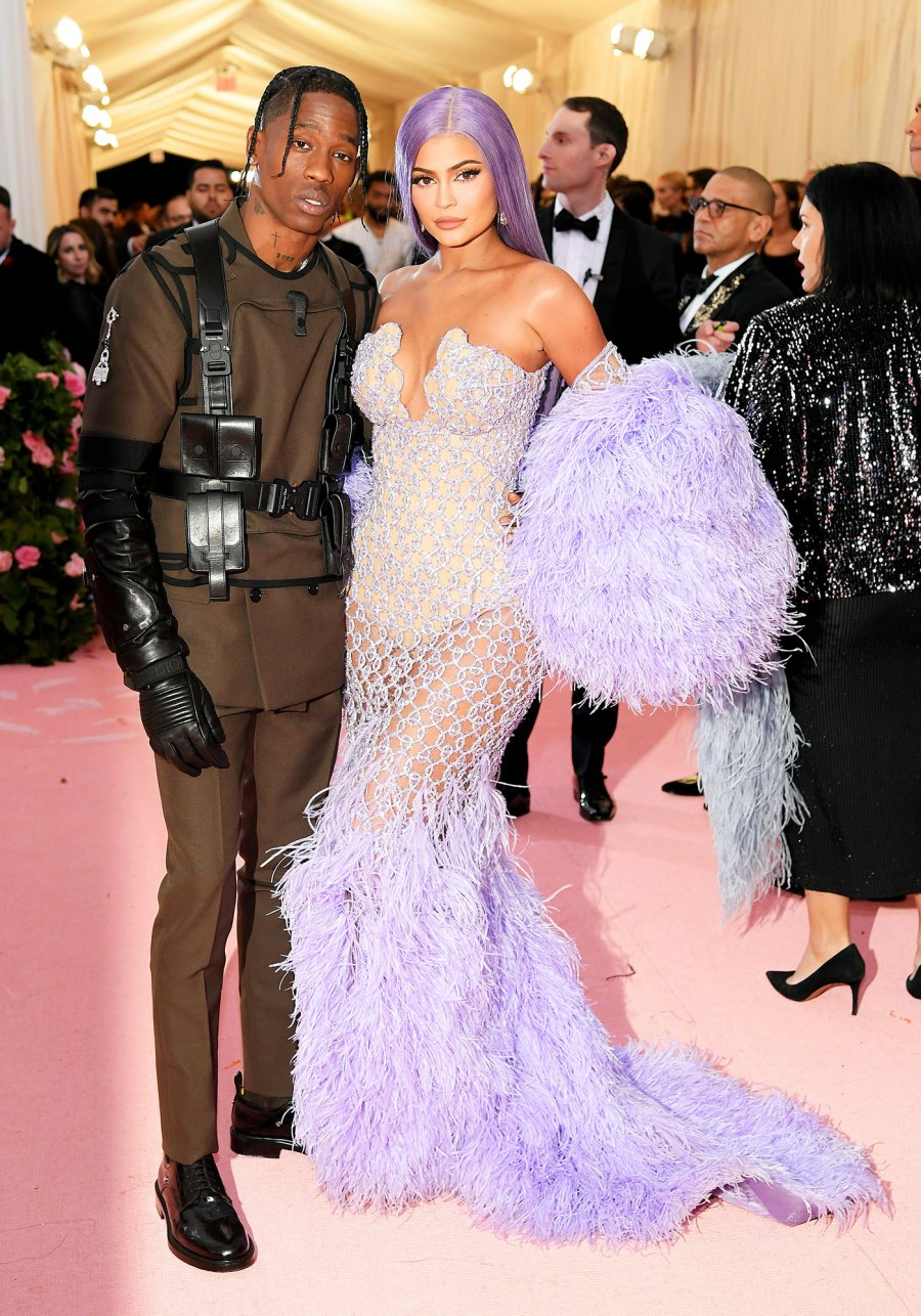 Travis Scott and Kylie Jenner met gala 2019 couples