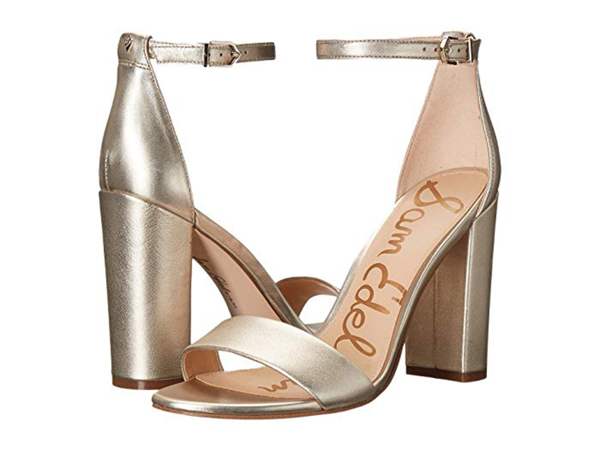 8998b1f4c Emily Blunt Wore Custom Sam Edelman Shoes Like These  100 Heels