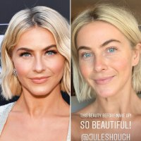 Julianne Hough Is Even More Gorgeous Without Makeup