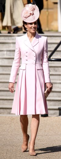 Kate Middleton Pretty in Pink