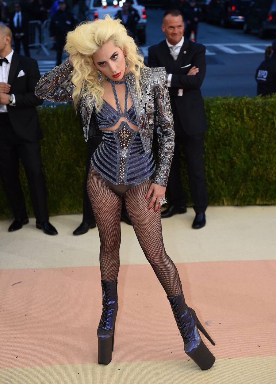 Proof Met Gala Host Lady Gaga Has Always Worn Campy Fashion